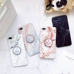 iPhone Marble Pop-up Holder Protective Case 6s 7s